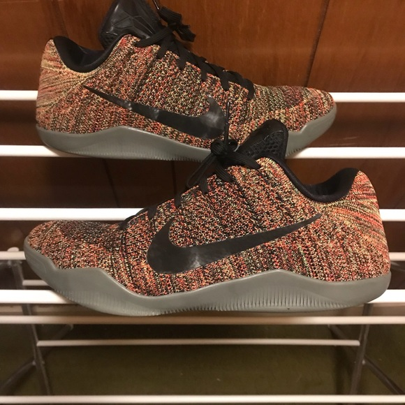 new product e97ec 2632e Brand new Nike Kobe 11 Custom Multicolor Flyknit NWT
